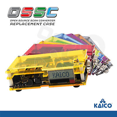 £14.99 • Buy OSSC Replacement Case Kit SCART Component VGA To HDMI Open Source Scan Converter