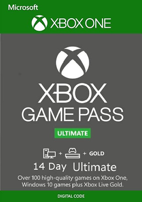 $3.99 • Buy Xbox Live 14 Day Gold & Game Pass Ultimate Digital Code FAST EMAIL DELIVERY