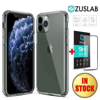 AU8.99 • Buy For IPhone 11 Pro MAX X XS MAX XR Case ZUSLAB Clear Heavy Duty Hard Back Cover