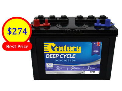 AU274 • Buy Century Battery N70t Mt – Deep Cycle-flooded