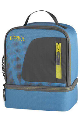 AU14 • Buy THERMOS Radiance Dual Lunch Kit Light Blue Lunch Box Cold Storage AUTHENTIC