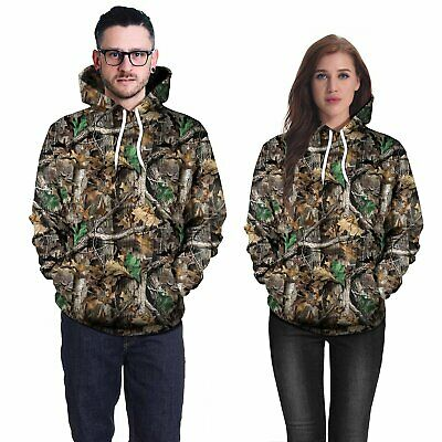 AU32.49 • Buy Long Sleeve Ghillie Suit 3D Camouflage Hoodie Hunting Camo Clothes M/L/XL/XXL