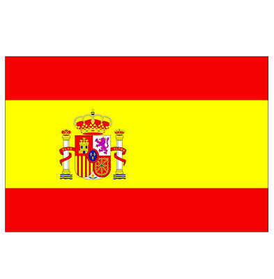 £3.10 • Buy 5ft X 3ft Spain National Flag Spanish Sports Supporter Euro Vision Party