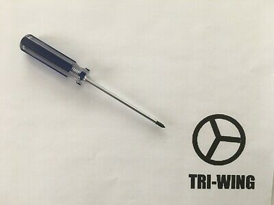 NEW Tri-wing Y1 3.0 Screwdriver For NDS DS Lite NDSL Wii GBA SP Mac Repair Tool • 4.31£