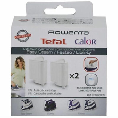 View Details 2x CALOR ROWENTA Steam Iron Anti Calc Filter Cartridge Cartridges XD9060EO • 17.69£