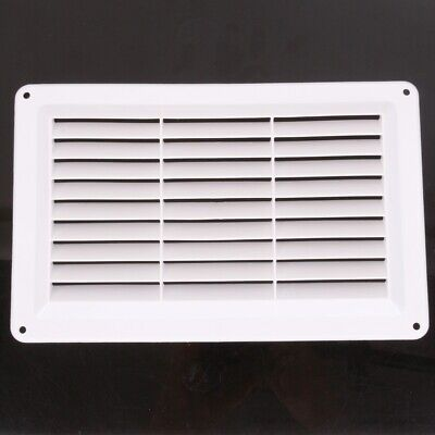 LOUVRE AIR VENT COVER Internal Wall Ducting Ventilation Integral Grille Plate • 3.77£