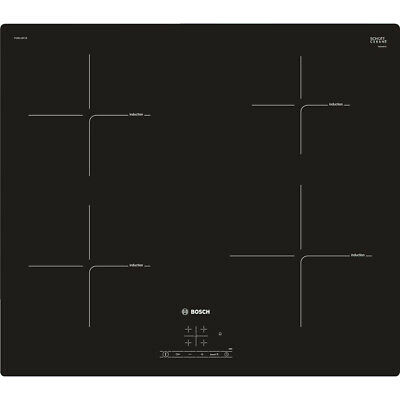 £313 • Buy Bosch Serie 4 PUE611BF1B Electric Hob Induction 4 Zones Touch Control