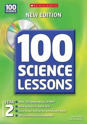 100 Science Lessons For Year 2 With CD-ROM Hybrid Carole, Wilson, Gay Creary • 7.49£