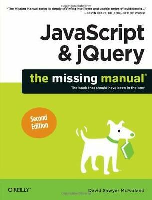 £3.09 • Buy JavaScript And JQuery : The Missing Manual Paperback David Sawyer