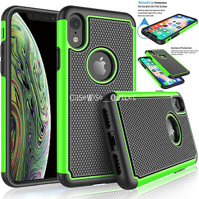 Shockproof Heavy Duty Bumper Hard Case Cover For Apple IPhone 6 7 8 X XS 11 12 • 3.96£