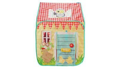 Chad Valley Wendy House Tent Designed To Look Just Like A House Packed With Fun • 29.99£
