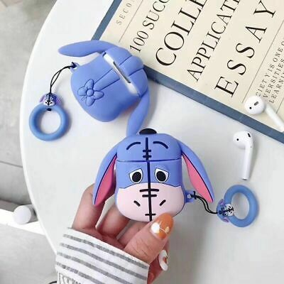 $ CDN6.63 • Buy Cartoon Donkey Silicone Wireless Bluetooth Earphone Case Cover For Apple Airpods