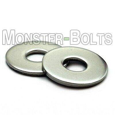 $5.34 • Buy Stainless Steel Fender (Penny) Washers, A2 DIN 9021 - M3 M4 M5 M6 M8 M10 M12