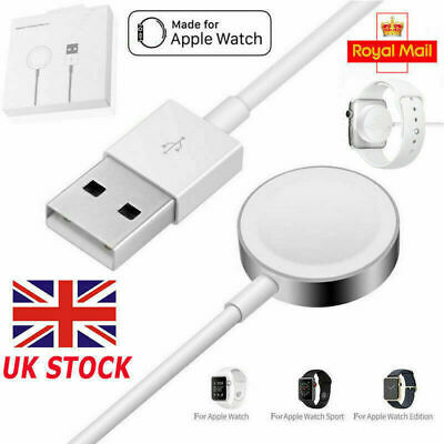 $ CDN17.52 • Buy For Apple Watch IWatch 5/4/3/2/1 Magnetic Cable 38 42 44mm Charger Charging Dock