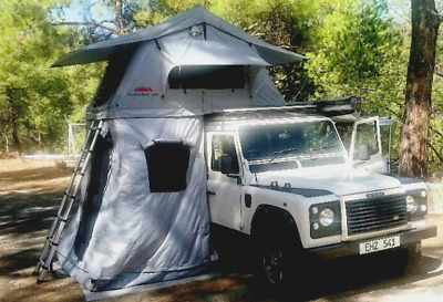 Ventura Deluxe 1.4 Roof Top Tent + Annex Camping Overland Expedition Land Rover • 899£