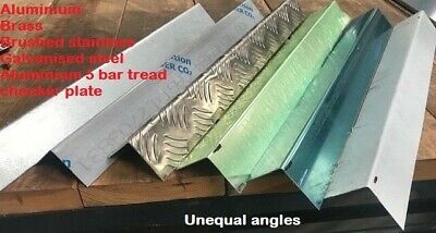 £14.05 • Buy 90 Degree Folded Corner Protector Unequal Angle -various Materials -  Many Sizes