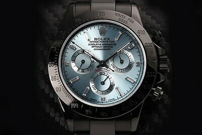 $ CDN29825.92 • Buy Rolex Cosmograph Daytona Black PVD/DLC Coated Stainless Steel Watch 116523
