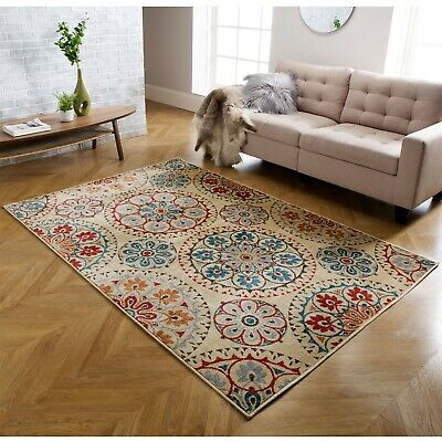 Luxury Classic Traditional Rugs For Living Room Small Medium Large Rug Carpet • 29.99£