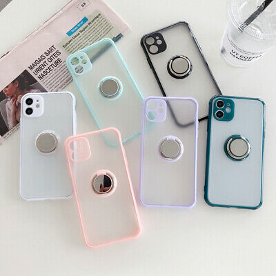 AU6.28 • Buy Shockproof Bumper Magnetic Ring Rigid Case For IPhone 11 XS Max XR 8 Plus SE 2nd