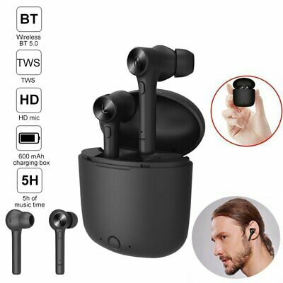 AU32.79 • Buy Bluetooth 5.0 Headset TWS Wireless Earphones Mini Earbuds Stereo Bass Headphones