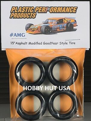 #AMG - Asphalt Modified Goodyear Style 15  Racing Tires - PPP - 1/25 - NEW ITEMS • 9.99$
