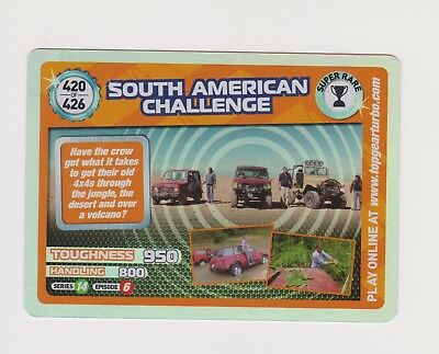 Top Gear Card - Turbo Challenge Extra! 420 South American Challenge - Super Rare • 1.99£