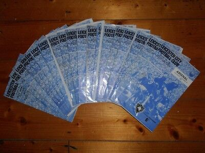 £2.25 • Buy 1965-66 LEICESTER CITY HOME PROGRAMMES - Your Choice - FREE Postage