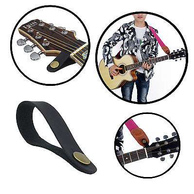 $ CDN6.46 • Buy 3PCS Leather Guitar Strap Button Hook For Acoustic Electric Guitar Headstock Tie