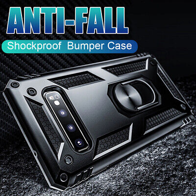 $ CDN4.40 • Buy Magnetic Ring Stand Military Armor Case Cover For Samsung Galaxy Note 10 S10Plus