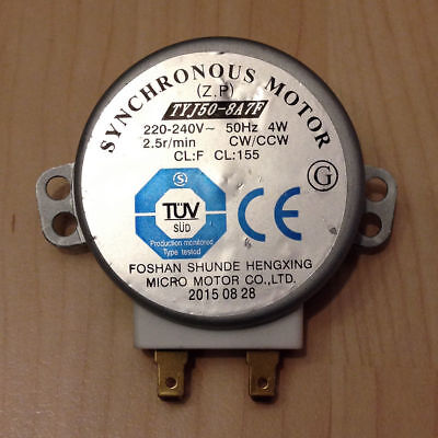 £7.24 • Buy New Microwave Turntable Synchronous Motor TYJ50 - 8A7F CW / CCW Sharp 2.5r /Min