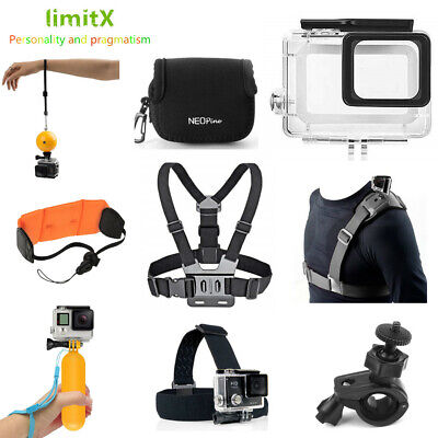$ CDN42.02 • Buy Accessories Waterproof Case Floating Ball Hand Grip Head Chest Strap For GOPRO