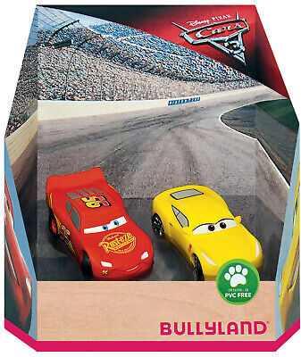 Bullyland Disney Cars Lightning McQueen & Cruz Figures Toys Cake Topper Toppers • 8.99£