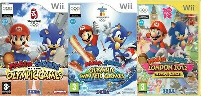 Mario & Sonic Wii Olympic Games London Winter - Super Fast Delivery • 8.99£