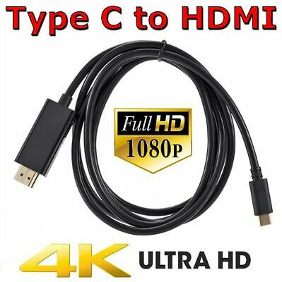 AU10.85 • Buy USB C To HDMI Cable USB Type C To HDMI 4K Cord For Samsung S10 S9 Macbook Pro