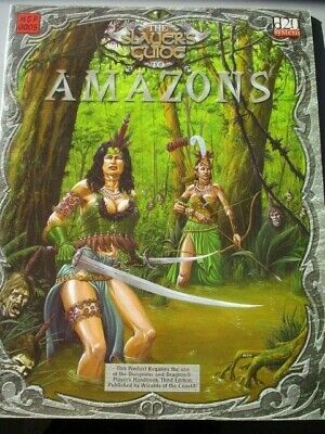 AU25 • Buy The Slayer's Guide To Amazons - D20 D & D 3/3.5 Ed MGP OGL