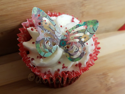 £1.99 • Buy Edible Butterflies Cupcake Cake Topper Decorations Wafer Paper Butterfly Various