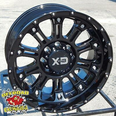 $1080 • Buy 20x10  GLOSS BLACK XD HOSS 2 WHEELS RIMS FORD F-250 F-350 SUPER DUTY LARIAT FX4