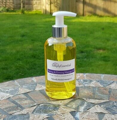 Toning And Firming Massage Oil 250ml Anti Cellulite Orange Grapefruit Geranium • 13.90£