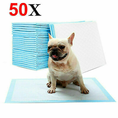 £10.99 • Buy HEAVY DUTY DOG PUPPY LARGE TRAINING WEE WEE PADS PAD FLOOR TOILET MATS 60 X 45cm