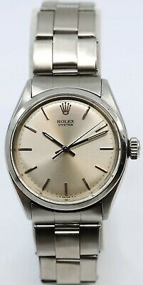 $ CDN4108.41 • Buy Rare Vintage Rolex 6480 Oyster Precision Stainless Steel 1957 33mm + BOX
