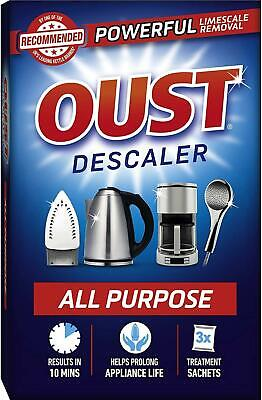 View Details Oust ALL PURPOSE DESCALER Kettles Irons Coffee Machines Limescale Remover • 9.49£
