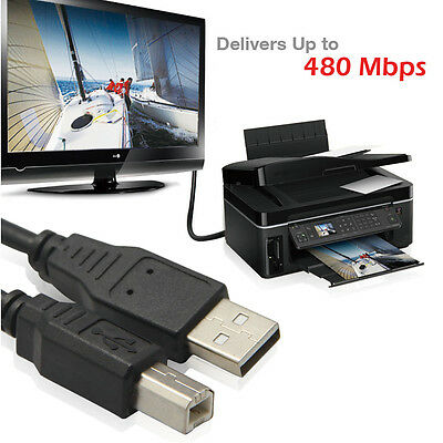 AU10.30 • Buy USB 2.0 EXTENSION CABLE 3M MALE TO FEMALEfor Printer Scanners Digital Camera