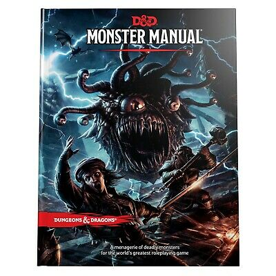 AU59.99 • Buy Dungeons & Dragons - 5th Edition - Monster Manual
