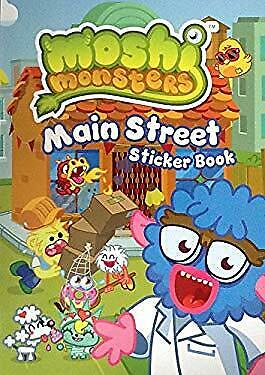 Moshi Monsters: Main Street Sticker And Activity Book. Mind Candy • 3.33£