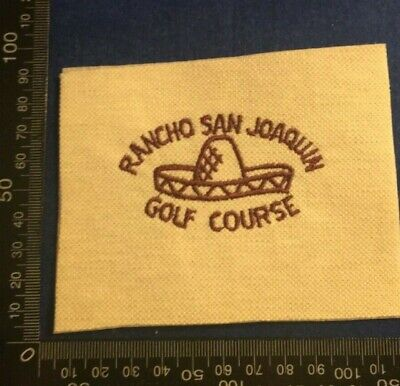 Embroidered Cloth Patch Badge Patchwork - Rancho Golf Course  (dd74) • 4.49£
