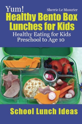 AU14.72 • Buy Le Masurier Sherrie-Yum Healthy Bento Box Lunches (US IMPORT) BOOK NEW