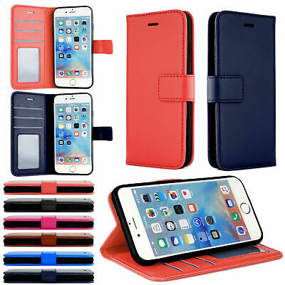 £3.95 • Buy Case For IPhone 6 7 8 5s Plus XR XS Max Cover Flip Wallet Leather Magntic Luxury