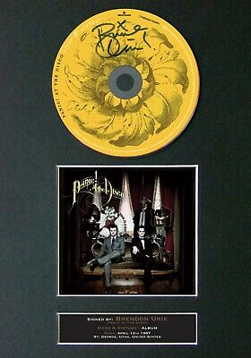 #71 BRENDAN URIE Virtues And Vices CD Signed Reproduction Autograph Mounted A4 • 21.99£