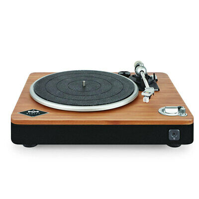 AU439 • Buy House Of Marley Stir It Up Wireless Bluetooth Turntable/Vinyl Record Player BLK