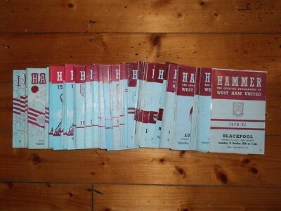 £2.25 • Buy 1970's WEST HAM UNITED HOME FOOTBALL PROGRAMMES - Your Choice - FREE Postage
